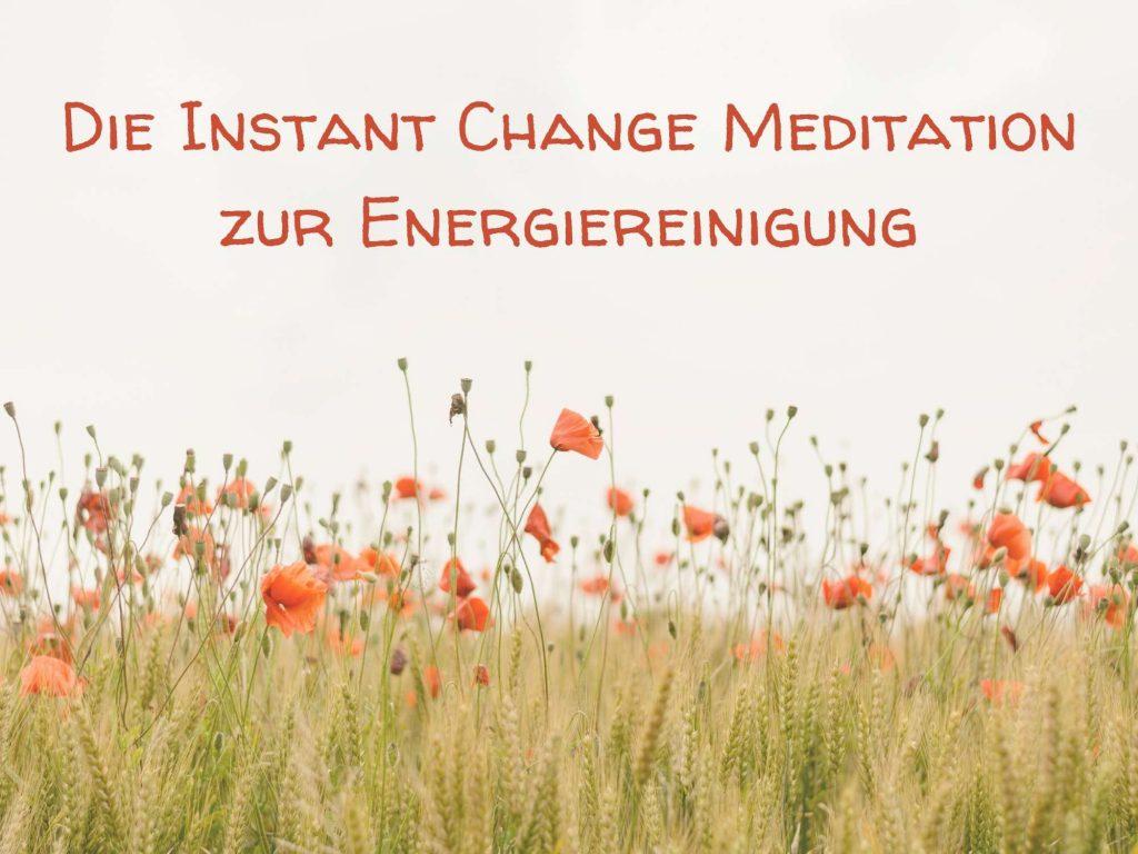 Instant Change Energiereinigung
