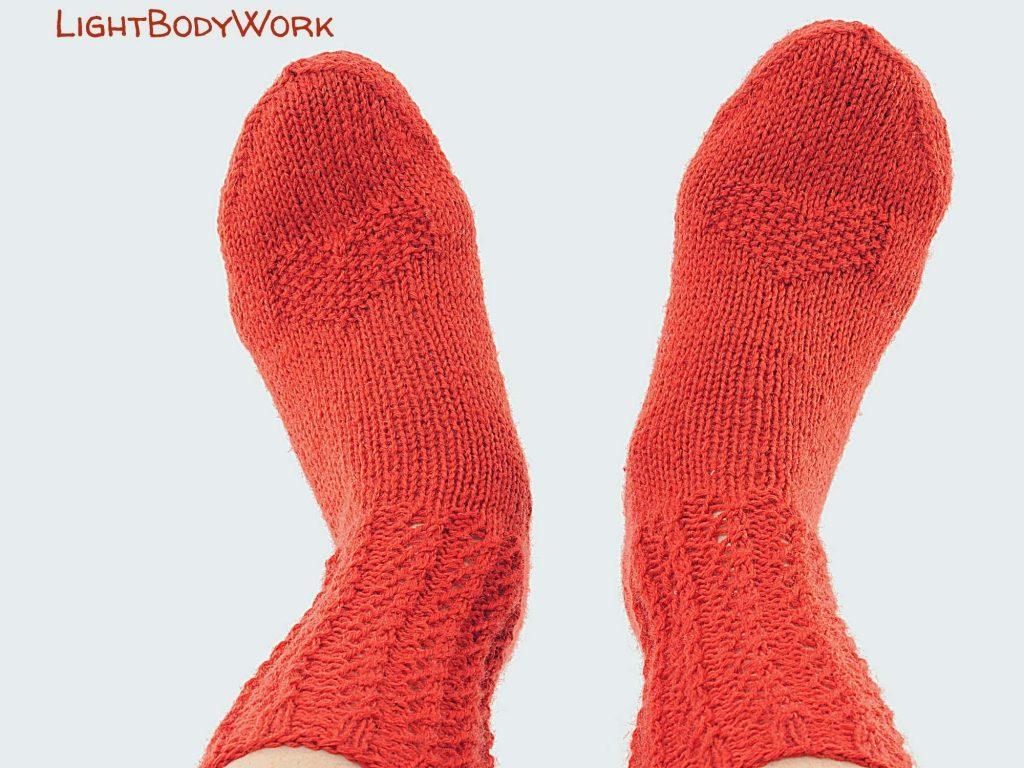 Rote Socken verbessern die Erdung!